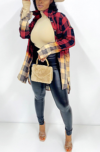Casual Sporty Buffalo Plaid Long Sleeve SN3290051
