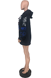 Casual Sporty Long Sleeve Hoodie ZZS8359
