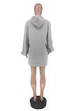 Casual Blazer Long Sleeve Hoodie ZZS8355