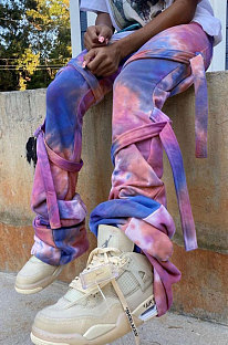 Moda casual Joker Tie Dye Bind Calças compridas YLY188