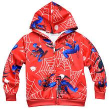 Jongen Cartoon Spider-Man Rits Hoodies Jas Taille YBK3531