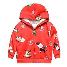 Kinderen Herfst Winter Rits Capuchon Vest Jas YBK3532