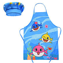 Children Prevent Dirty Apron Cooking Chef Apron Baking Drawing Apron YBK511