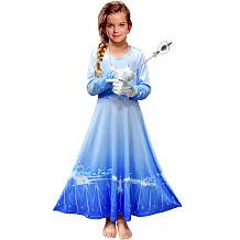 Frozen Two Clothing Elsa Long Dress Girl Dress YBK9901