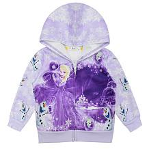 Frozen Princess Esha Giirl vest met rits YBK3559