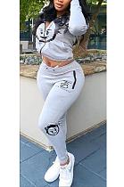 Casual Simplee Long Sleeve Hoodie Long Pants Sets YS465