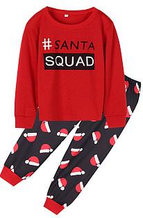 Pyjama à manches courtes Santa Hat pour enfants
