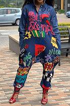 Autumn Winter High-Density Cigoni Long Sleeve Fashion Casual Jumpsuit YYZ747