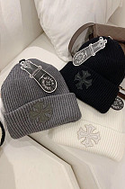クロスプレッピースタイルのファッション多目的な暖かいウールの帽子の女性MP027