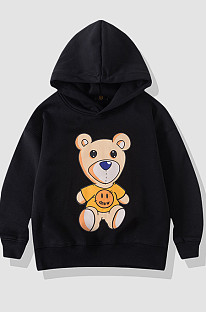 Smiley Bear Popular Logo With Cashmere Sweaters For Children TLN10031