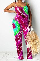 Fashion Womenswear Rotate Tie Dye Jumpsuit SYY8005