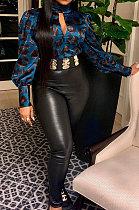 Fashion Womenswear Chest Open Fork Sexy Pleuche Jacket SYY8032