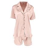 Shirt Collar Pajamas