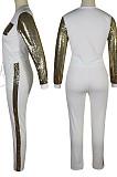 Night Clud Long Slevee Sequins Sport Suit QQM4148