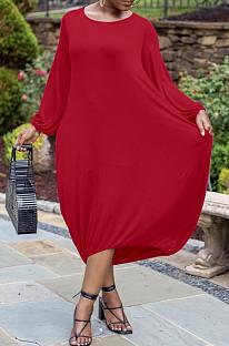 Robe longue lâche robes de boîte de nuit K2024