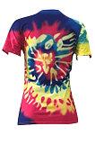 Impression de lettre de positionnement de couleur gribouillis T-shirts D68110