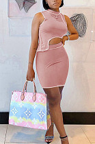 Spring And Summer Fashion Women's Short Skirt Two-Piece MR2077