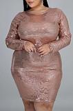 Fashion V Neck Article Pit Short Dresses QZ5265