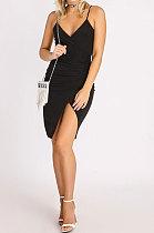 فستان قصير مثير للنساء لربيع وصيف من بلاك جالوس كالتالي - WMZ6233