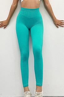 Πλεκτά παντελόνια με γοφούς σορτς με υψηλή μέση και παντελόνι γιόγκα TX0022