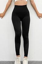 سروال يوجا مثير قابل للتمدد بخصر عالٍ في الورك سريع الجفاف وسراويل لياقة بدنية للنساء TX0017