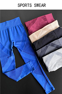 Tight Athletic Yoga Pants With High Waist And Hip Iift TX4435-1