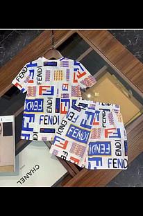 Ensembles de shorts à imprimé logo et lettre (le prix est pour 5 ensembles d'un style)