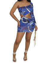 Весенне-летние комплекты юбок, синие, модные, со средней талией, с молочным шелком, повседневное, темперамент, пригородные, из двух частей, EL8115