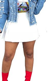 Модная сексуальная плиссированная юбка KZ006