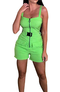 Polyester Fashion Casual Sling Jumpsuits TK6006
