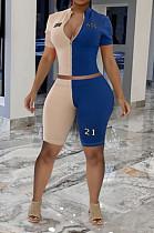 أزياء الصيف تتحد معًا سبورز كاجوال من قطعتين OEP6256