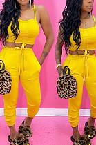 Слинг Midriff Pocket Повседневная сексуальная мода из двух частей SMD2026