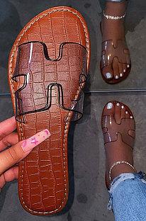 Women's Shoes Beach Shoes Flat Heel Slippers XK8002