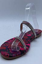 Diamond Flat Sandals Women's Shoes XK9225