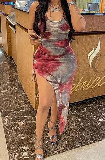 Gallus Red Midi Dress JR3605