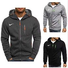 Men's Zipper Hoodie Coat