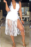Sexy Fashion Pure Color Tasscl Shorts Jumpsuit LM974