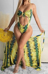 Сексуальный модный купальник-накидка Euramerican из двух частей ORY5186