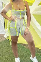 أزياء المرأة شريط تقسم مثير السراويل مجموعات S6281