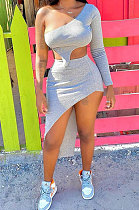 Conjuntos de saias irregulares de moda feminina da Euramerican WME2047
