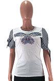 Модные футболки с цифровой печатью AMW8183