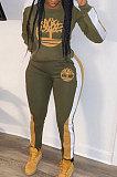 Casual Women Printing Winter Sport Pants Sets HG5296