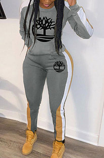 Casual Women Printing Winter Sport Pants Sets HG5296