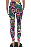 Printing Tight Carry Buttock Cultivate One's Morality Trendy Long Pants XXR2142