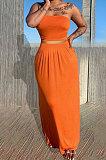 Сексуальный бюстгальтер-бандо, чистый цвет, юбка, комплекты Q842