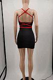 Женское мини-платье Gallus с v-образным вырезом и цветочным узором KKY8025