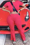 Женский спортивный комплект Euramerican для ягодиц, чистый цвет, двухкомпонентный PQ8015