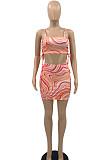 Модное сексуальное слинг-бюстгальтер-топ с ягодицами и принтом, платье с принтом PQ8032