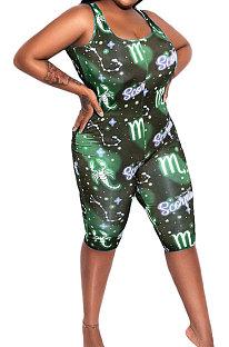 Женские шорты-комбинезоны с принтом звезд Euramerican AMN8003