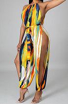 Женский пояс соболезнования Сексуальные облегающие комбинезоны с открытой вилкой (содержат завязанный на талию ремешок) GHH036